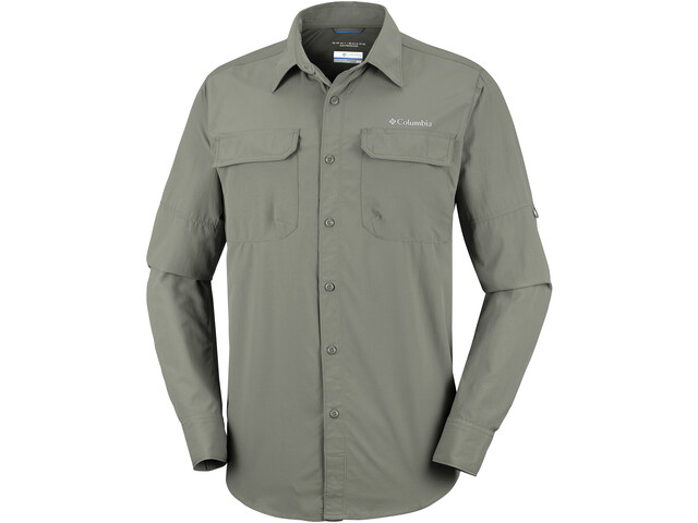 Columbia Silver Ridge II T-shirt à manches longues Homme, cypress